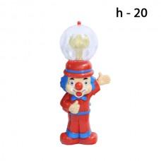 Микрофон Клоун Музыкальный, Светящийся