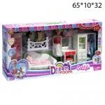 """Кукла с набором """"Комната мечты"""""""