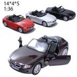 Модель машины Kinsmart BMW Z4 Масштаб 1:32