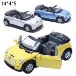 Модель машины Kinsmart Mini Cooper s Convertible 1:28