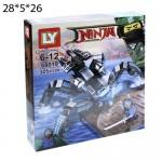 """Конструктор """"Ninja"""" Робот-Паук 325дет."""