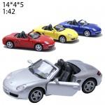 Модель машины Kinsma Porsche Boxster S Масштаб 1:34