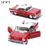 Модель машины Kinsmart 1957 Chevrolet Bal Air(Fire Chief) Масштаб 1:40