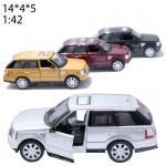 Модель машины Kinsmart Range Rover Sport Масштаб:1:38