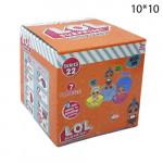 Кукла сюрприз LOL в шарике 22 серия 1шт. Оранжевый