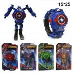 Часы Супергеройские( в наличие только капитан америка)