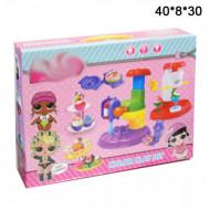 Набор Мороженица из пластилина куколок сюрприз