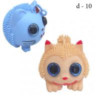 Ёжик на резинке Кот с глазками