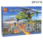 Конструктор вертолет(Urban) 348 дет.