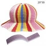 Бумажная шляпа гармошка