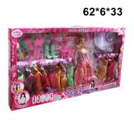 Кукла Барби с набором платьев