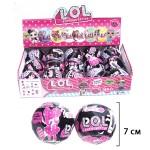 Кукла сюрприз LOL МИНИ чёрные в шарике 1шт.