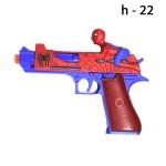 Пистолет Человек-Паук муз. свет.