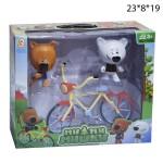 Ми-ми-мишки велосипедом