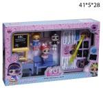 Школьный набор куколок Лол и Русуй светом