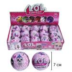 Кукла сюрприз LOL МИНИ розовые в шарике 1шт.
