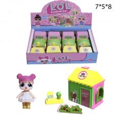Цветочный домик куколок LOL в ассортименте