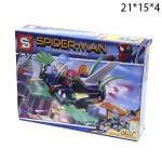 """Конструктор Человек-паук """"Heroes Assemble"""" 106 деталей в ассортименте"""