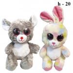 Мягкая игрушка Животные с глазками