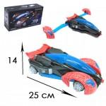 Машина Spider man (Трансформер) светящаяся, музыкальная