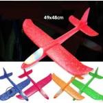 Самолёт Планер для запуска рукой (большой) Светящийся