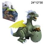 Динозавр с детёнышем музыкальный, светящийся