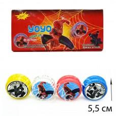 Йо йо Светящийся Человек-паук