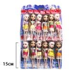Куклы на листе 12 шт. по 36 руб.