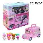 Автобус с куколками ЛОЛ (LOL)