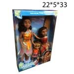 Кукла Моана в наборе 3шт.
