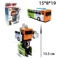 Трасформер металлический Автобус