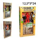 Стикбот (StikBot) с аксессуарами