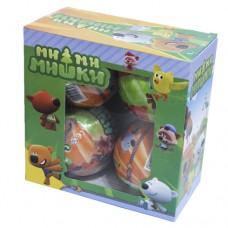 Кукла сюрприз Ми-ми-мишки в шарике 4шт.