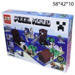 Конструктор 4в1 Пиксель (Pixel World) 1201дет.