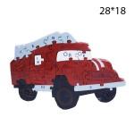 Деревянный пазл Азбука Пожарная машина