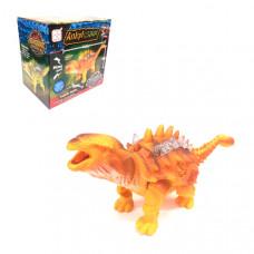 Динозавр Ankyl Saur, светящийся, музыкальный