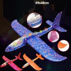 Самолет Планер большой Светящийся