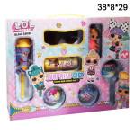 Набор куколок LOL, очки, чупа-чупс, капсула, шарики