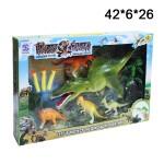 Набор Динозавров (динозавр стреляет пульками)