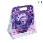 Кукла сюрприз LOL Большой шар Фиолетовый с аксессуарами