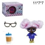 Кукла сюрприз LOL с париком в капсуле 1шт.