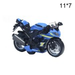 Моделька Мотоцикл металлическая свет. муз.