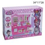 Кухня куколок LOL со звуком