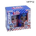 Кукла сюрприз LOL BOY и BABY в банках 2шт.