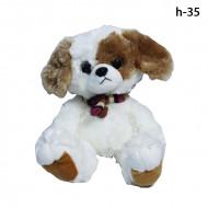 Мягкая игрушка Собачка с глазками