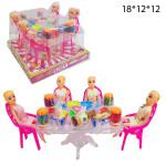 Кухонный стол с куколками