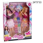 Набор 2 куклы с обовью