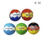 Мяч Футбольный с надписью в ассортименте