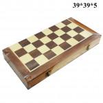 Шахматы 3в1 деревянные