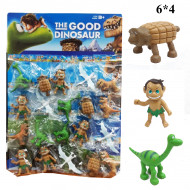 Динозавры на листе